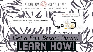 Learn How to Get a FREE Breast Pump!  Mind of Mia  #firsttimemommy #pregnant #breastpump