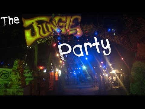 THE JUNGLE PARTY ON KOH PHANGAN | Day 21