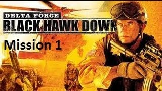 Delta Force Black Hawk Down HD Walkthrough Part 1: Marka Breakdown