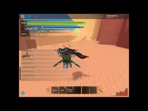 ROBLOX l SwordBurst 2 l F5 Mini Boss Location!