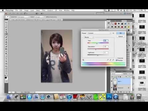Cách ghép mặt trên photoshop CS5