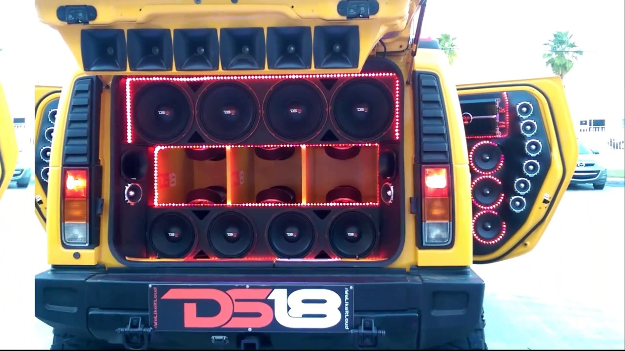 Ds18 Hummer H2 Youtube
