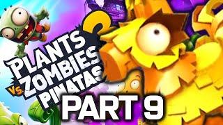 Plants vs. Zombies 3 Gameplay Walkthrough Part 9 - PINATA RUSH! (iOS Android PvZ 3)