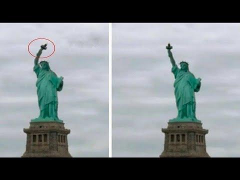 5 Misterijoznih Pokreta Statua Snimljenih Kamerom