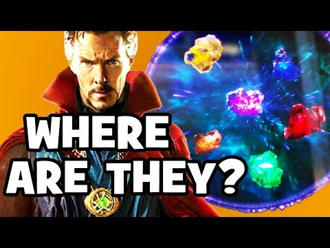 Where Are The INFINITY STONES NOW? Doctor Strange & Avengers: Infinity War Explained