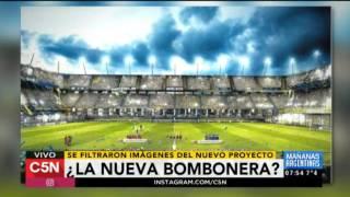 La Nueva Bombonera Mira El Audio Del Proximo Estadio
