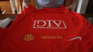Manchester United 2008 UCL Final replica jersey - Nani 17