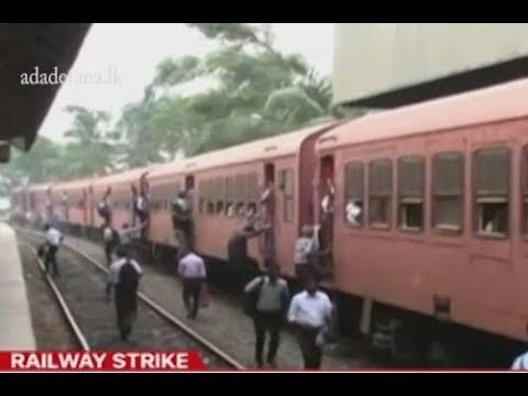 Seven trade unions withdraw from railway strike action (English)