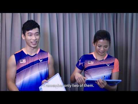 Behind the Gameface. Chan Peng Soon/Goh Liu Ying