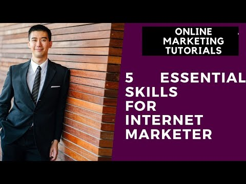 Online Marketing Tutorial For Beginners Part 3 | 5 Essential Skills For Internet Marketer thumbnail