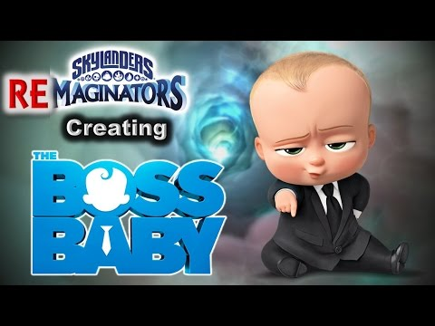 Skylanders RE-maginators - Creating BOSS BABY from Dreamworks Animation 🌙 in Skylanders Imaginators