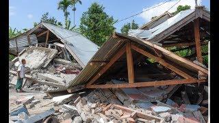 FOOTAGE OF 7.0 EARTHQUAKE | LOMBOK INDONESIA