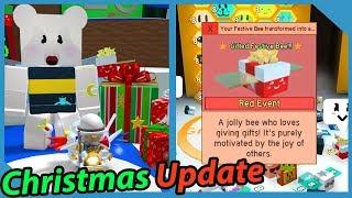 New Christmas Update Iฑ Roblox Bee Swarm Simulator