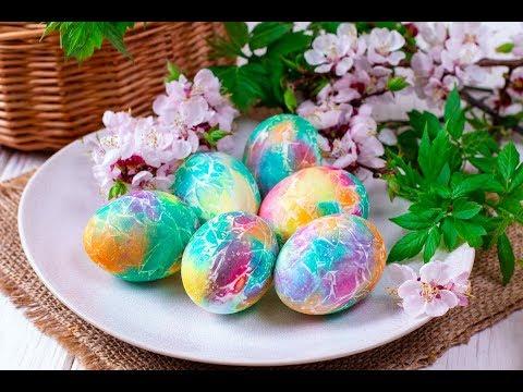 НЕВЕРОЯТНО КРАСИВЫЕ яйца на ПАСХУ! Как красиво украсить пасхальные яйца