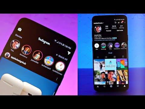 Samsung Galaxy S9 - ACTIVATE ULTRA DARK MODE!