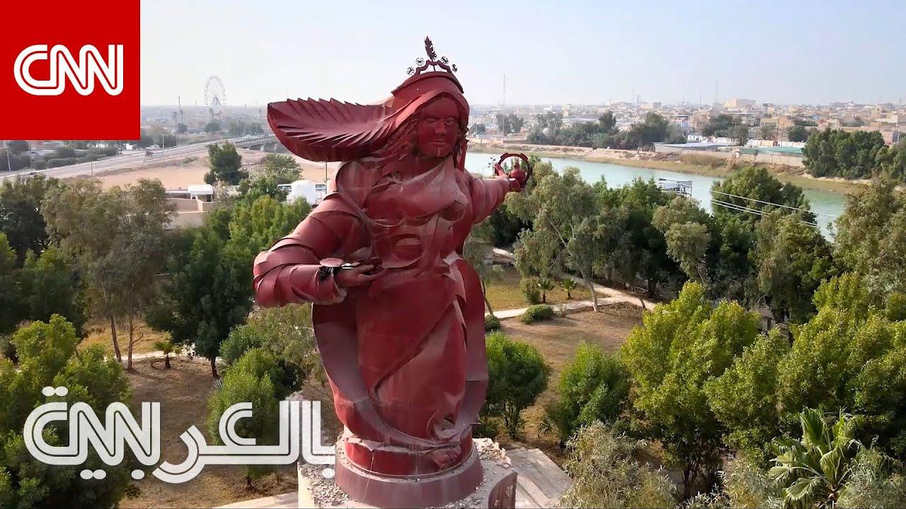 نصب تسواهن في العراق.. أكبر تمثال في العالم العربي  - نشر قبل 2 ساعة
