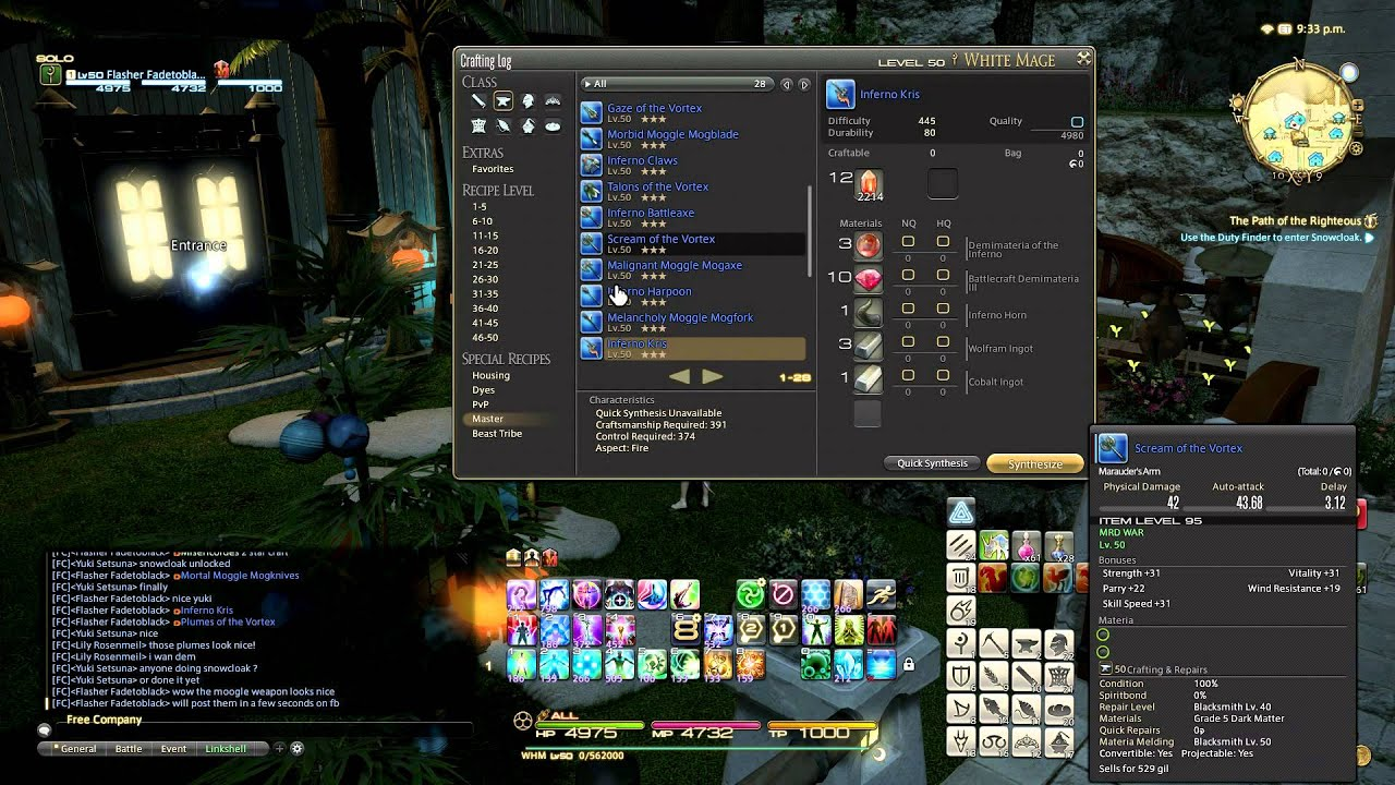 Ffxiv Guide To Crafting