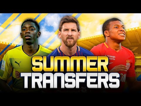 SUMMER TRANSFERS! w/ MAN CITY LINKED WITH MESSI MOVE! - FIFA 18 ULTIMATE TEAM