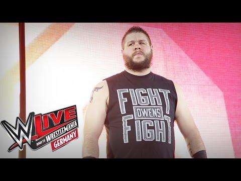 Kevin Owens Entrance: WWE Live in Mannheim, 12. Februar 2016