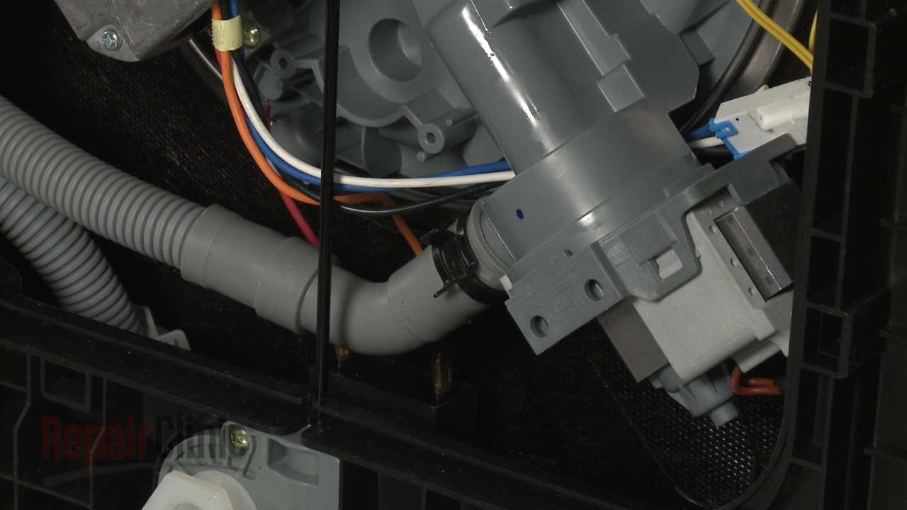 Samsung Dishwasher Drain Pump Hose Replacement #DD8101502A  YouTube