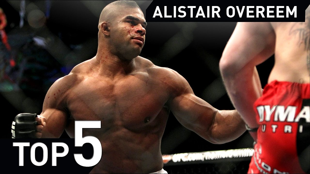 Alistair Overeem Mma Submission Highlight