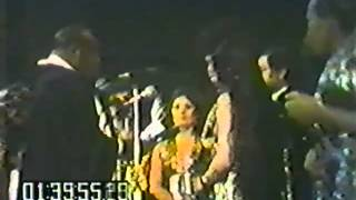 Sly Stone's on-stage wedding and reception, Madison Square Garden 6/5/74