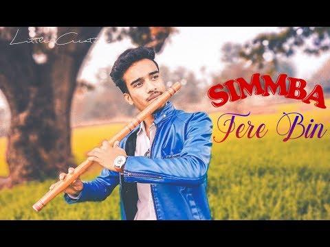 Tere Bin Nahi Lagda Dil Mera Dholna Flute Cover / Simmba / Divyansh Shrivastava