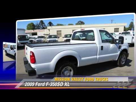 2009 Ford F 350sd Xl Mission Valley Trucks San Jose
