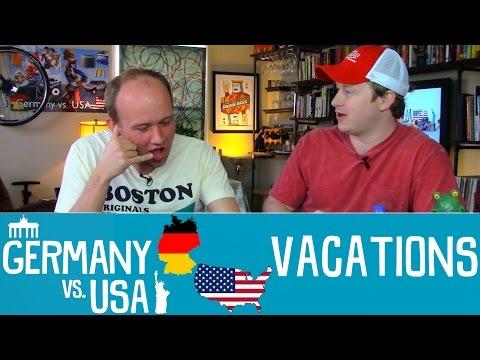 Vacations - Germany vs USA