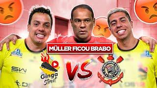 JOGO REAL: GINGA X CORINTHIANS (Craque Neto, Amaral, Dinei, Biro Biro) Quem ganhou?