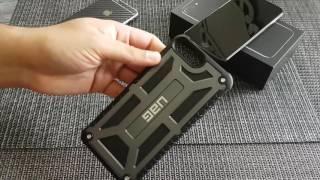 видео Купить чехол uag monarch для iphone 7 plus / 6s plus черный обзор, фото, цена, характеристики