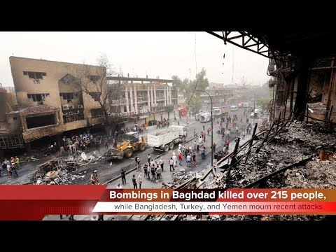 KTF News - ISIS Attack in Baghdad Kills at least 215