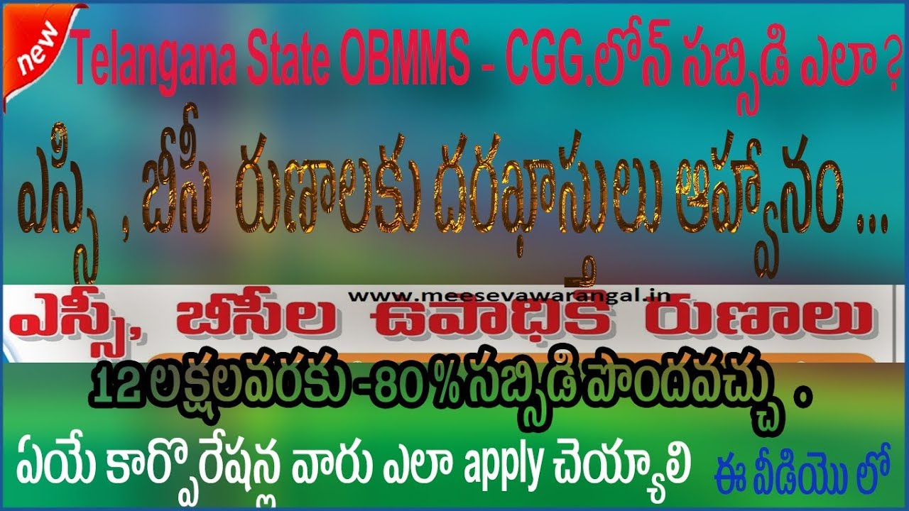 AP OBMMS Economic Support online application at apobmmscgg