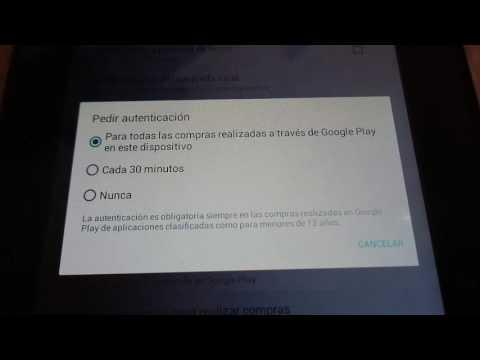 Bloquear Compras en Google Play (Playstore)