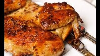 ЦЫПЛЕНОК ТАБАКА (ТАПАКА)  Рецепт Цыпленок табака на сковороде