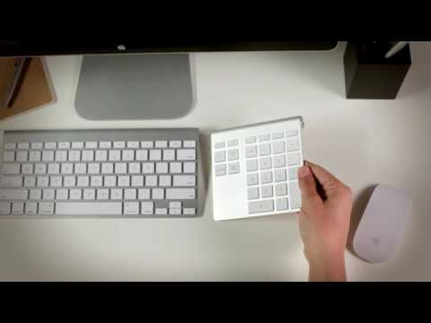 43aa20fe4c1 Belkin YourType Bluetooth Wireless Keypad - YouTube