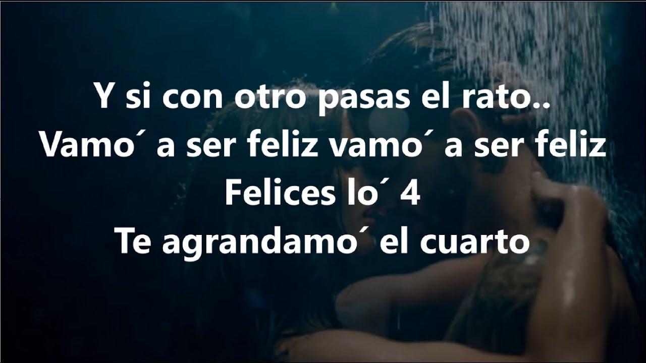 LETRA FELICES LOS 4 MALUMA lyrics - YouTube