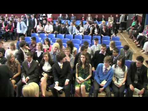 Leavers Assembly at William Edwards School