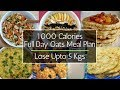 Full Day Oats Meal Plan For Weight Loss | 1000 Calorie Diet Plan To Lose 5 Kgs In 5 Days