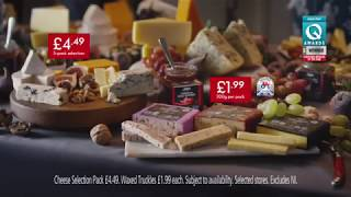 Lidl Christmas advert 2018 | Deluxe Cheese Selection Pack