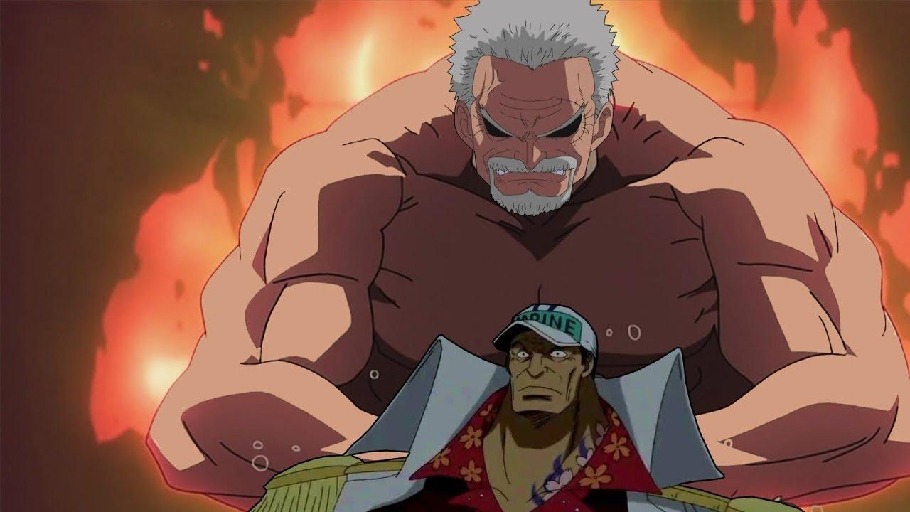 Monkey D. Garp và Sakazuki (Akainu) - Ai Mạnh Hơn? I Phân Tích One Piece