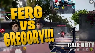 YOUTUBER VS YOUTUBER IN CALL OF DUTY: MOBILE! iFerg vs Gregory in Ranked!