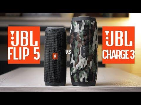 JBL Flip 5 vs Charge 3 - SOUND TEST COMPARISON