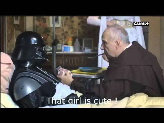 Parodie de Stars Wars : clip tourné par Canal + pour les César 2013