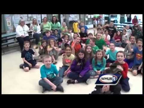 School visit: New Searles Elementary School in Nashua