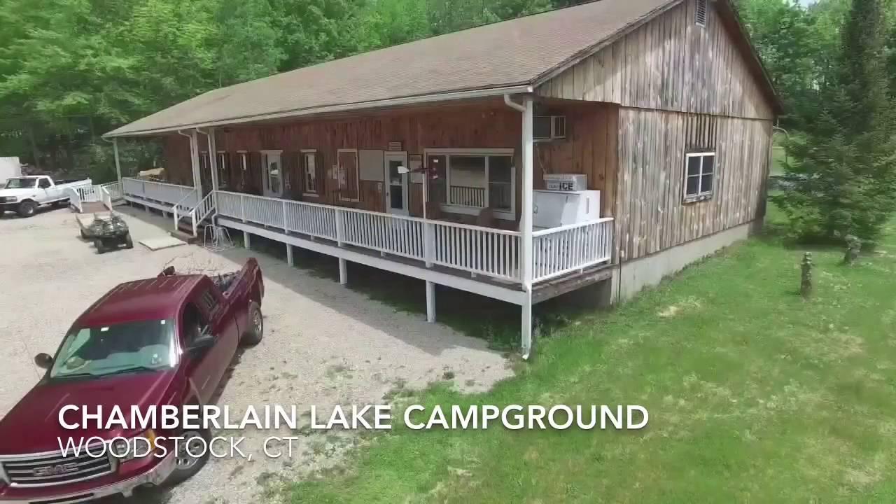 Chamberlain Lake Campground - YouTube