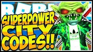 🏙️SECRET CODES SUPERPOWER CITY🔥[NEW] Superpower City Roblox🏙️