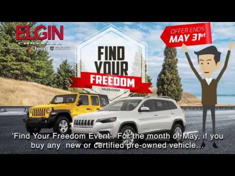 Elgin Chrysler Dodge Jeep Ram Find Your Freedom Event