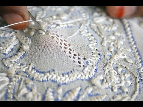 Chikankari Embroidery Youtube