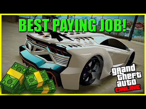 GTA 5 Money - Best Paying Jobs/Missions On GTA 5 Online, Very Easy & Semi AFK! $120,000 (Per Hour)